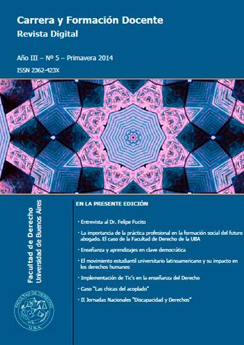Carrera y Formaci�n Docente Revista Digital