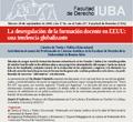 La desregulación de la información docente en EEUU: una tendencia globalizante