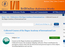 Hague Academy of International Law