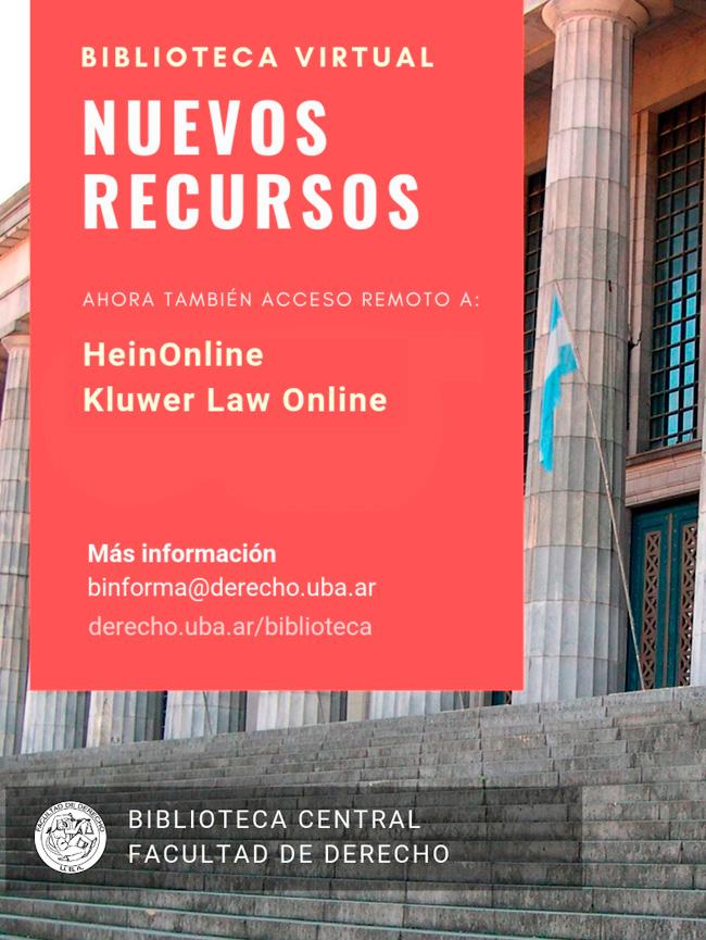 Nuevos recursos electronicos en la Biblioteca Virtual