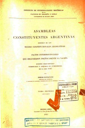 Bicentenario de la Primera Constitución Nacional