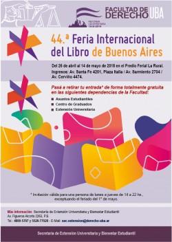 44.ª feria internacional del libro de Buenos Aires