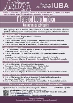 1º Feria del Libro Jurídico