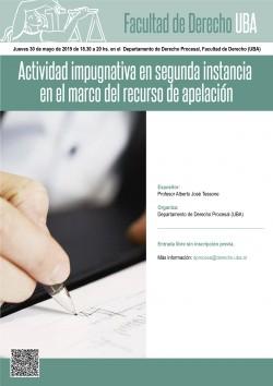 Actividad impugnativa en segunda instancia en el marco del recurso de apelación