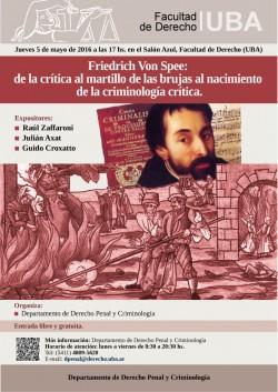 Friedrich Von Spee: de la crítica al martillo de las brujas al nacimiento de la criminología crítica