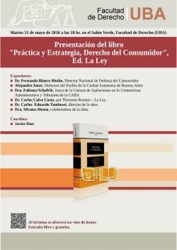 """Presentación del libro """"Práctica y Estrategia, Derecho del Consumidor"""""""