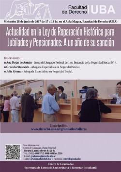 Actualidad en la Ley de Reparación Histórica para Jubilados y Pensionados: A un año de su sanción