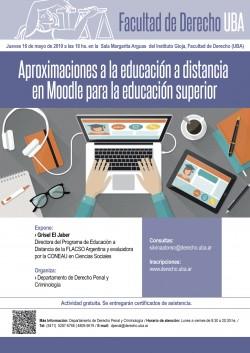 Aproximaciones a la educación a distancia en Moodle para la educación superior