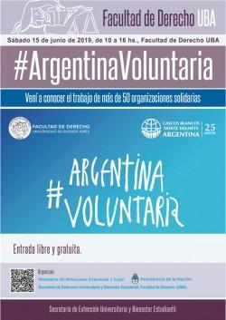 #Argentina Voluntaria 2019