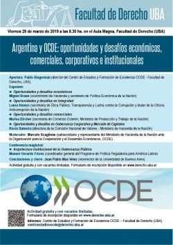 Argentina y OCDE: oportunidades y desafíos económicos, comerciales, corporativos e institucionales