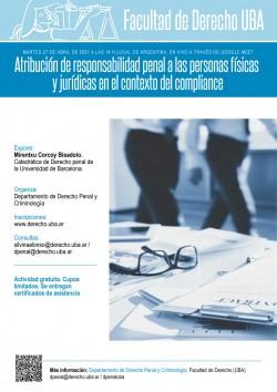 Atribución de responsabilidad penal a las personas físicas y jurídicas en el contexto del <i>compliance</i>