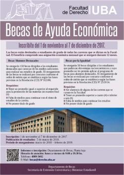 Becas de Ayuda Económica