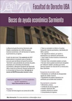 Becas de Ayuda Económica Sarmiento