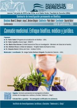Cannabis Medicinal - Enfoque bioético, médico y jurídico