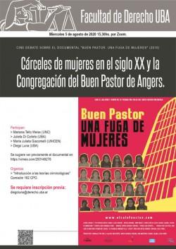 """Cárceles de mujeres en el siglo XX y la Congregación del Buen Pastor de Angers. Cine debate sobre el documental """"Buen Pastor. Una fuga de mujeres"""" (2010)"""