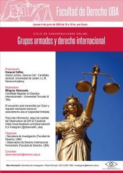Ciclo de conversaciones online: Grupos armados y derecho internacional