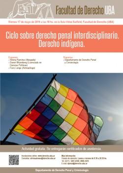 Ciclo sobre derecho penal interdisciplinario: Derecho indígena