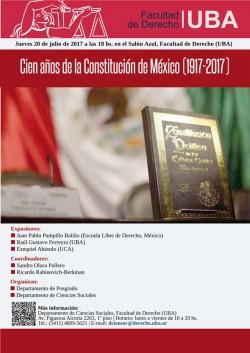 Cien Años de la Constitución de México (1917-2017)