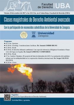 Clases magistrales de Derecho Ambiental avanzado