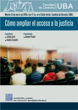 Cómo ampliar el acceso a la justicia