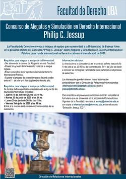 Concurso de Alegatos y Simulación en Derecho Internacional - Philip C. Jessup