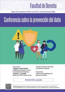 Conferencia sobre la prevención del daño