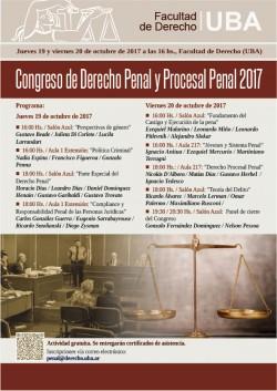 Congreso de Derecho Penal y Procesal Penal 2017