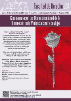 Conmemoración del Día Internacional de la Eliminación de la Violencia contra la Mujer