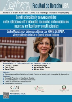 Constitucionalidad y convencionalidad en las relaciones entre tribunales nacionales e internacionales: aspectos iusfilosóficos y constitucionales