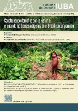 Construyendo derechos con la Historia: el caso de las tierras indígenas en el Brasil contemporáneo