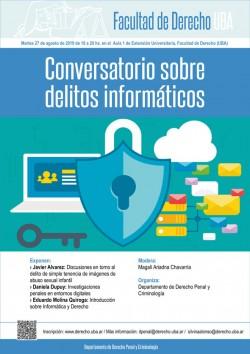 Conversatorio sobre delitos informáticos