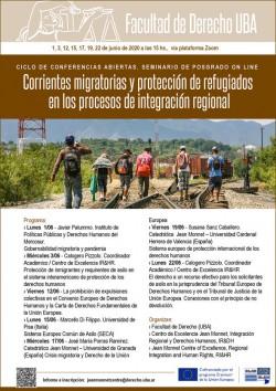 Corrientes migratorias y protección de refugiados en los procesos de integración regional