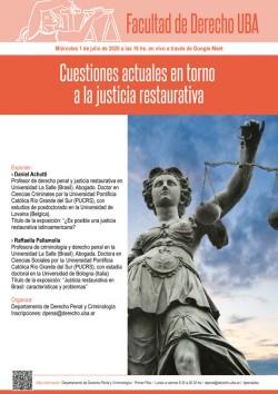 Cuestiones actuales en torno a la justicia restaurativa