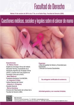 Cuestiones médicas, sociales y legales sobre el cáncer de mama
