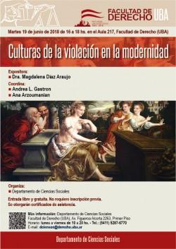 Culturas de la violación en la modernidad