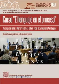 """Curso """"Lenguaje y proceso"""""""