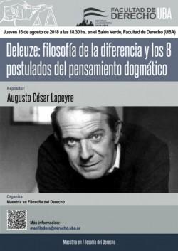 Deleuze: filosofía de la diferencia y los 8 postulados del pensamiento dogmático