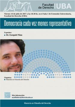 Democracia cada vez menos representativa