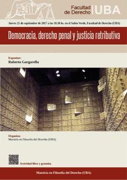 Democracia, derecho penal y justicia retributiva