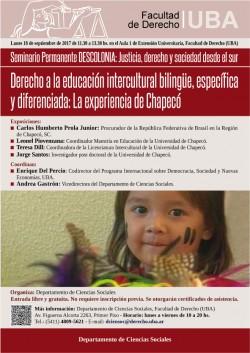 Derecho a la educación intercultural bilingüe, específica y diferenciada:  La experiencia de Chapecó