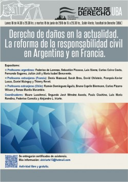 Derecho de daños en la actualidad. La reforma de la responsabilidad civil en Argentina y en Francia