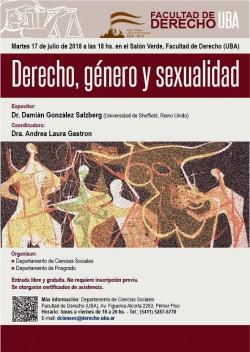 Derecho, género y sexualidad