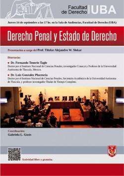 Derecho Penal y Estado de Derecho