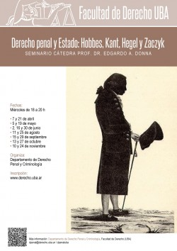 Derecho penal y Estado: Hobbes, Kant, Hegel y Zaczyk