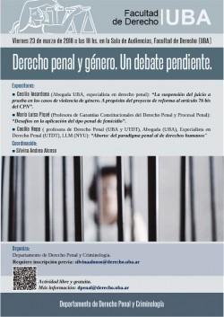 Derecho penal y género. Un debate pendiente