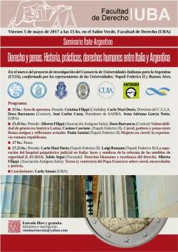 Derecho y penas. Historia, prácticas, derechos humanos entre Italia y Argentina