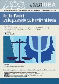 Derecho y psicología: Aportes psicosociales para la práctica del derecho