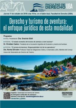 Derecho y turismo de aventura: el enfoque jurídico de esta modalidad