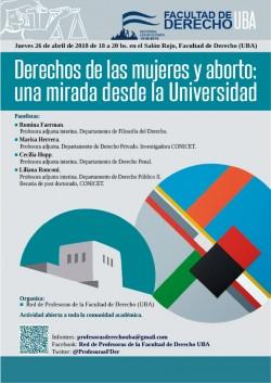 Derechos de las mujeres y aborto: una mirada desde la Universidad