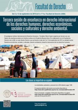 Derechos económicos, sociales y culturales, derecho ambiental y derecho internacional de los derechos humanos